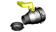 Tapa de Válvula de Tanque IBC Rosca Fina